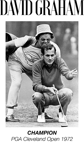 David Graham - CHAMPION - PGA Cleveland Open 1972